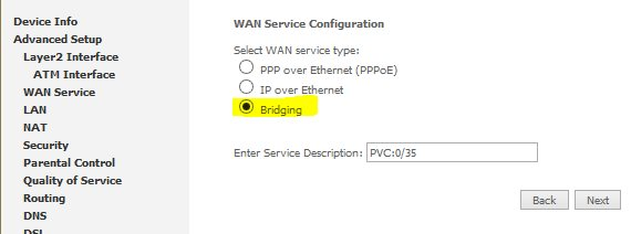 Router 1 WAN Service 2